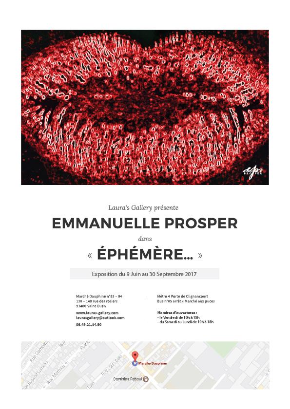 Exposition Emmanuelle Prosper - Laura's Gallery - Juin à Septembre 2017