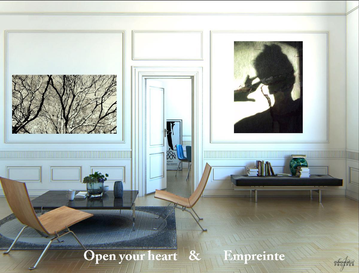Open your heart & empreinte