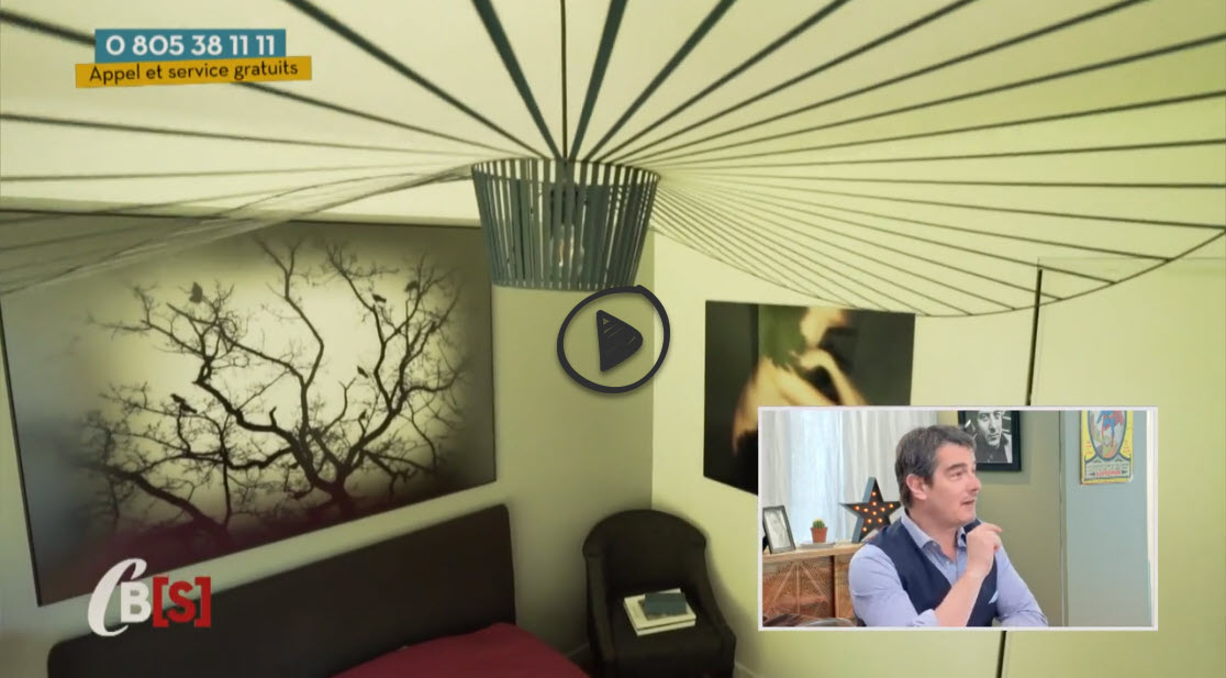 Mes oeuvres In Situ dans l'appartement très sympa d'une de mes Collectionneuses!